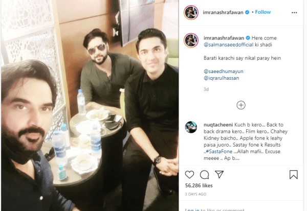 Imran Ashraf Kills His Haters with Kindness Once Again