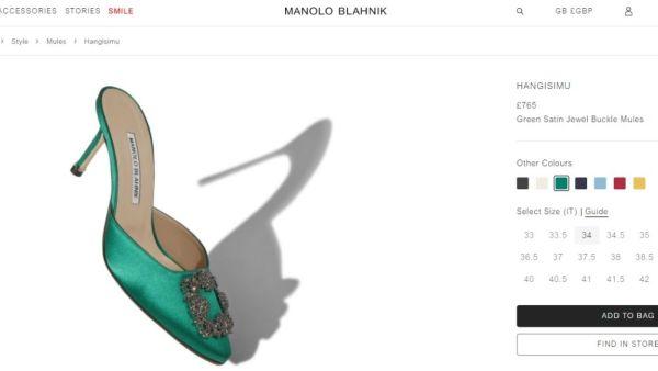 Maryam Nawaz's Designer Shoes