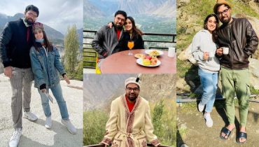 Beautiful Clicks of Iqra Aziz and Yasir Hussain from Hunza