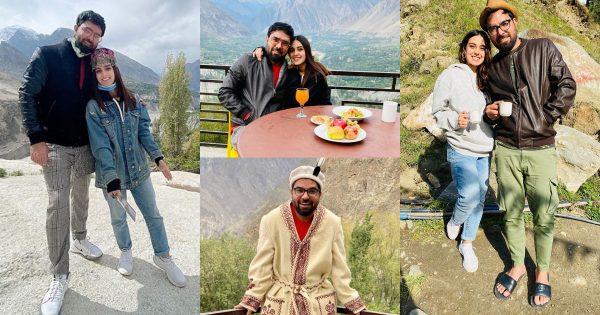 Beautiful Clicks of Iqra Aziz and Yasir Hussain from Hunza