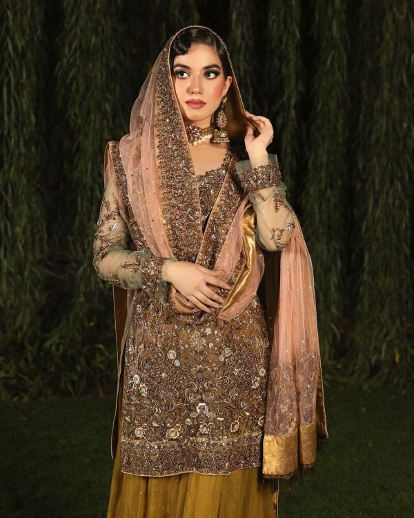 Arisha Razi Khan Latest Bridal Shoot for BNS by Bina Sultan