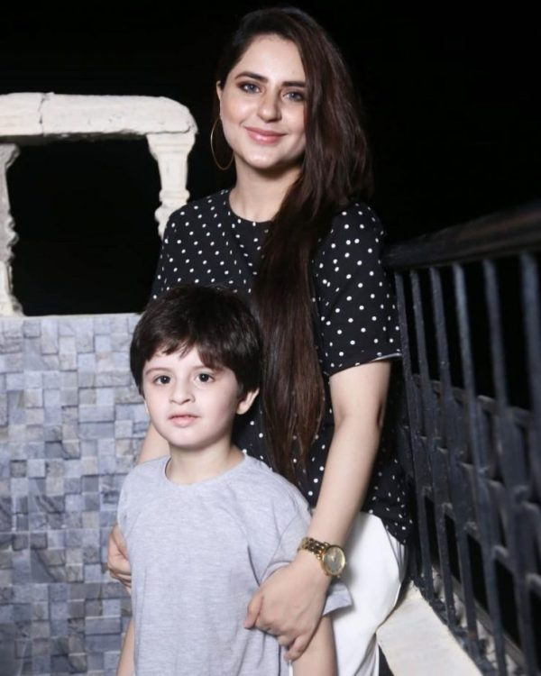 Fatima Effendi Latest Beautiful Clicks with Her Kids