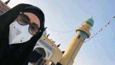 Sadia last clicks from Karbala: