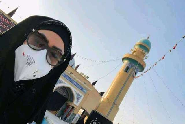 Sadia last clicks from Karbala: