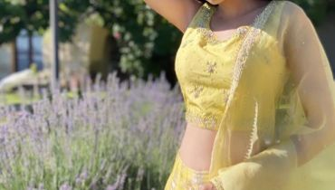 Latest Pictures of Actress Anmol Baloch in Yellow Dress