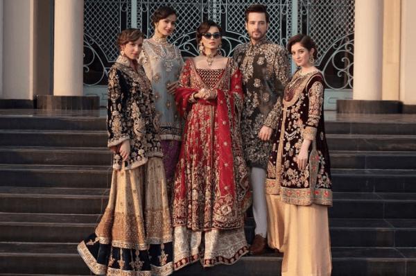 Sadia Khan Latest Pakistani Bridal Dresses Photoshoot