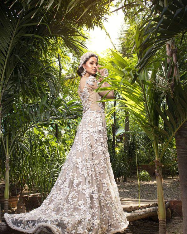 Nimra Khan Latest Bridal Dresses Photoshoot