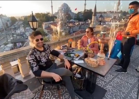 Aiman Khan And Muneeb Butt's Romantic Pictures From Turkey