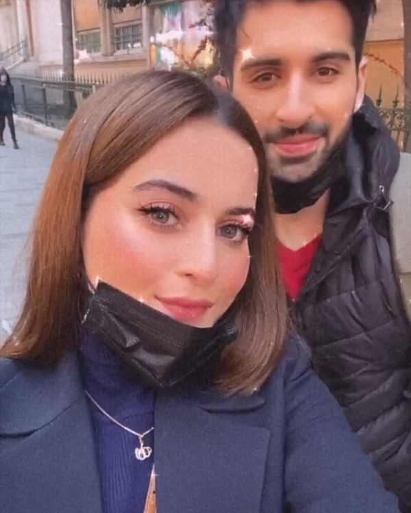 Aiman Khan and Muneeb Butt Enjoying Holidays in Turkey