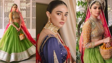 Actress Saheefa Jabbar Gorgeous Bridal Photoshoot
