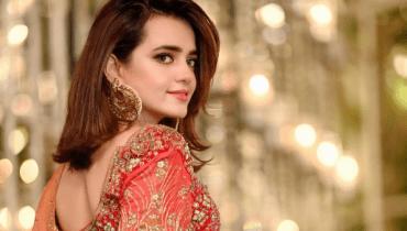 Sumbul Iqbal Stunning In Pakistani Bridal Dress