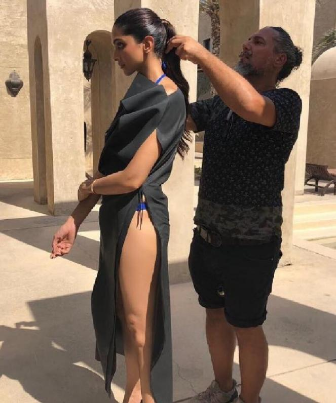 Deepika Padukone is too hot In this BTS photo