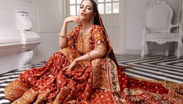 Hina Ashfaq Latest Pakistani Bridal Dresses Photoshoot