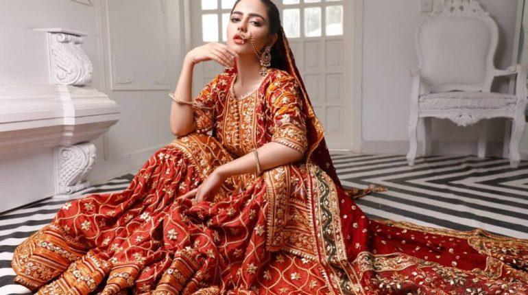 Hina Ashfaq Latest Pakistani Bridal Dresses Photoshoot