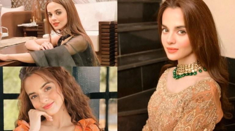 Actress Komal Meer Looking Adorable In Gorgeous Saree