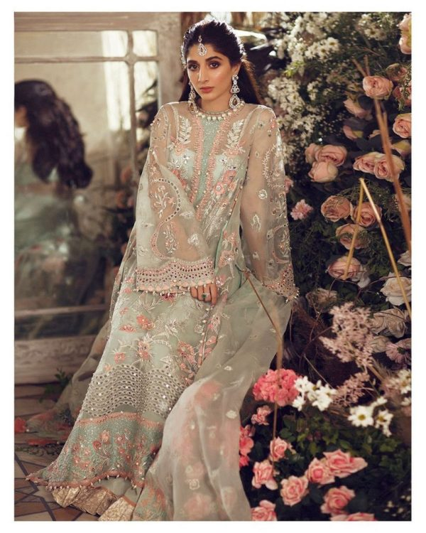 Mawra Hocane Latest Pakistani Wedding Dresses