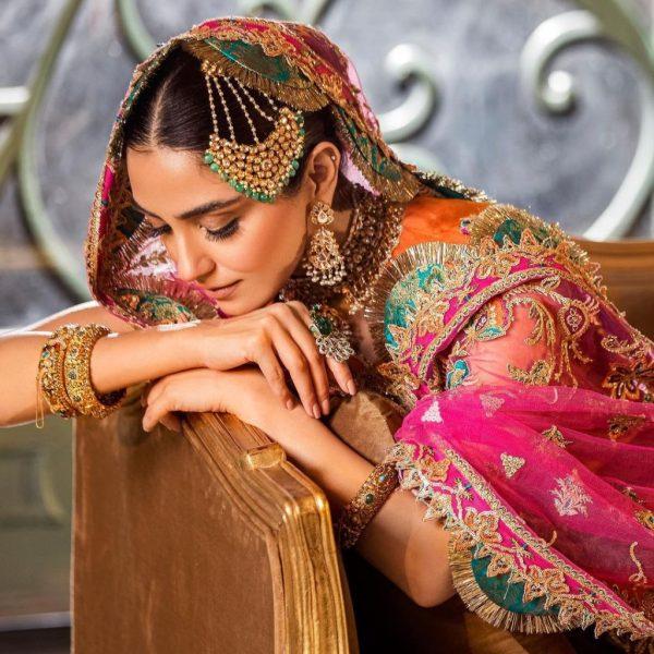 Maya Ali Stuns In Her Latest Pakistani Bridal Dresses