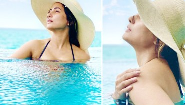 Hina Khan Sizzles In Bikini Flaunts Her Perfectly Toned Body