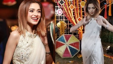 Aima Baig Cracking Look Her Sister Wedding Day