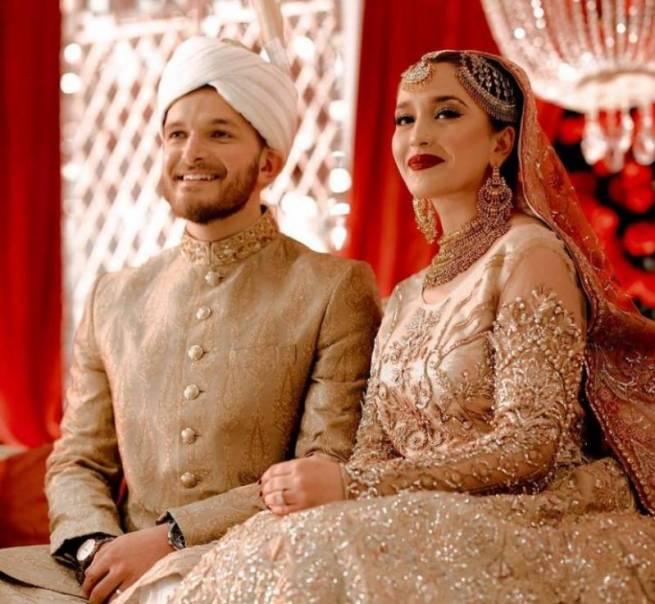 Hamza Ali Abbasi And Naimal Khawar's Looks Stunning