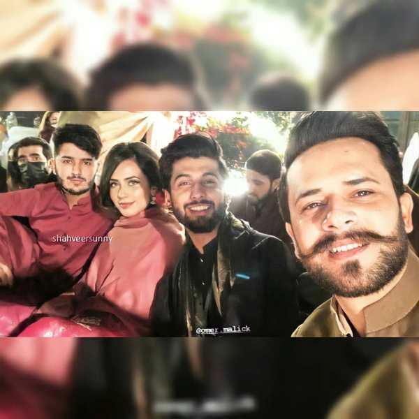Shahveer Jafry And Ayesha Being Engagement Qawwali Night