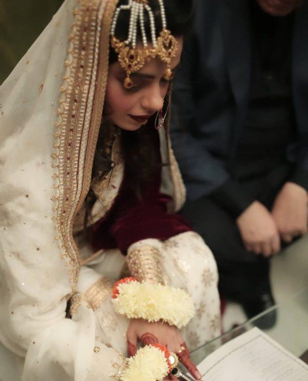Actress Srha Asghar Got Nikkahfied