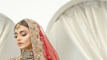 Sadia Khan's Latest Pakistani Bridal Photoshoot