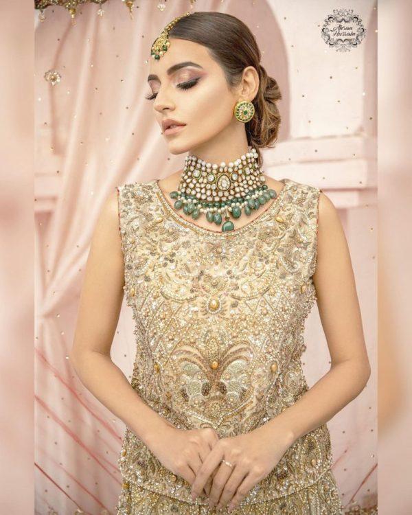 Sadia Khan's Latest Pakistani Bridal Photoshoot