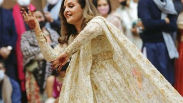 Hina Khawaja Dance On Her Daughter Wedding Event