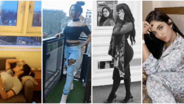 Controversial photos of Mathira from her Instagram account