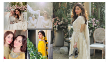 Mahira Khan Heartfelt Picture with Marina Khan