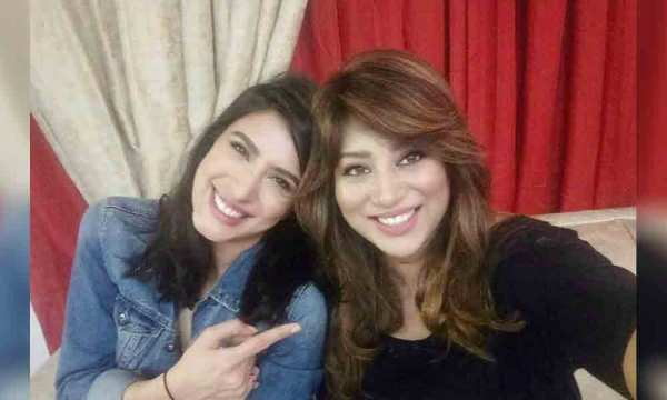 Mehwish Hayat Fights With Sister Afsheen Hayat Video Goes Viral