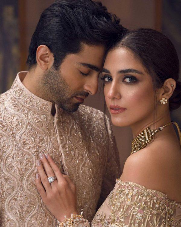 Maya Ali and Sheheryar Munawar Hot Photoshoot