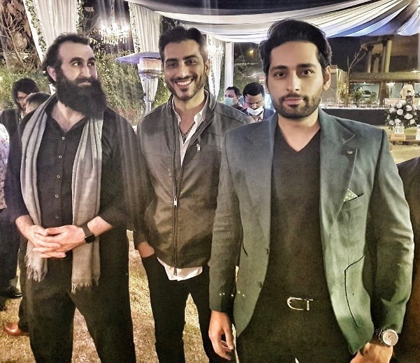 Pakistani Celebrities spotted with Turkish Actor Celal Al last night