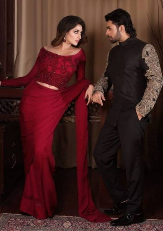 Farhan Saeed and Iman Ali Sizzle In This Heated Photoshoot