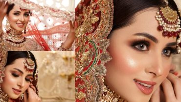 Nimra Khan Looks Gorgeous In Latest Bridal Shoot