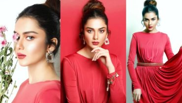 Syeda Tuba Amir Dazzles In Red Latest Photoshoot
