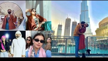 Latest Pictures of Zara Noor Abbas and Asad Siddique in Dubai