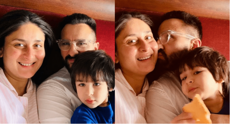 Kareena Kapoor Shares Adorable pic with Saif & Taimur on New Year Eve