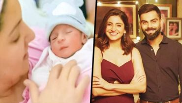 Virat Kohli Anushka Sharma share first glimpse of baby girl