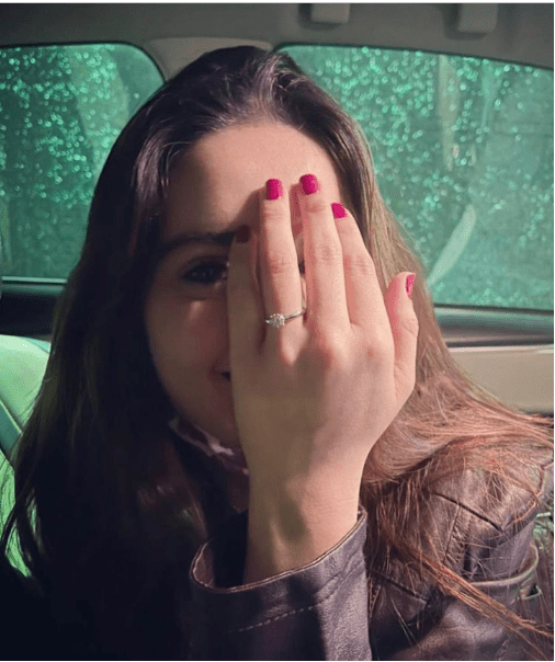 Minal Khan Got Engaged With Ahsan Mohsin Ikram