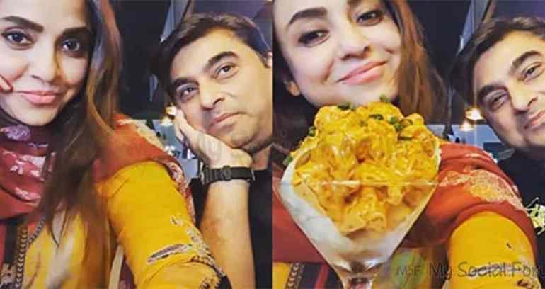 Nadia Khan Celebrates Her Innocent Husband Birthday