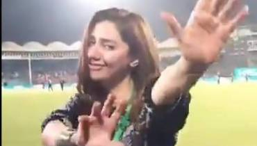 Queen Mahira Khan Googly dance hots up the challenge