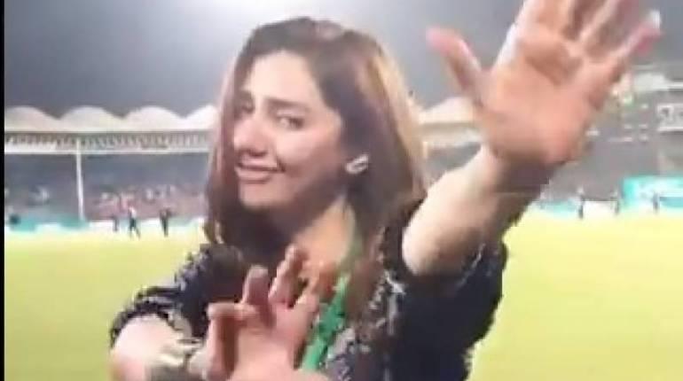Queen Mahira Khan Googly dance hots up the challenge