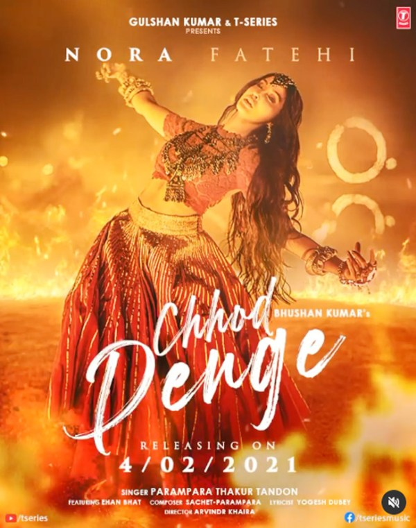 Nora fatehi sizzle with killer dance moves in Chhor Denge