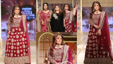 Resham and Hareem Farooq Walks On Ramp For Nisa Hussain