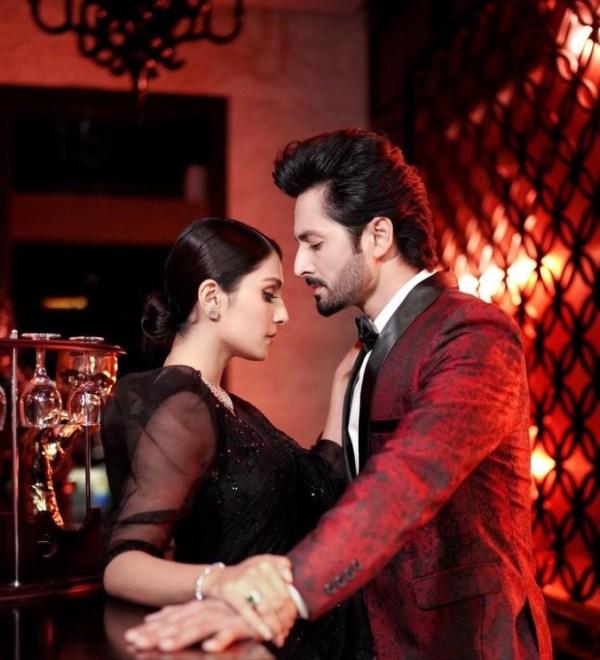 Ayeza Khan And Danish Taimoor Set Couple Goals In Black