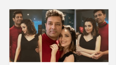 Romantic Pictures Of Armeena Rana Khan With Her Husband
