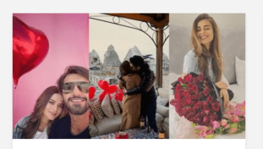 Celebrities Spotted Celebrating Valentine's Day