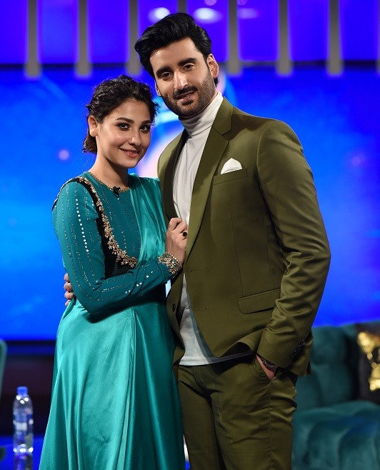 Hina Altaf and Agha Ali Looks Stunning